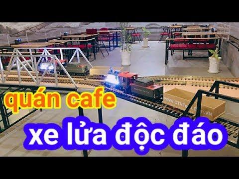 Quán cafe đường sắt xe lửa độc đáo ở Việt Nam – Bình Dương – DDC – Dân Dã Channel