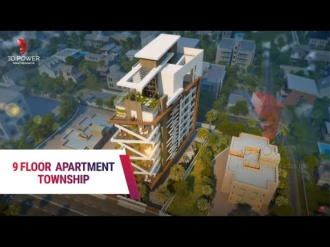 Highrise apartment 3D Walkthrough