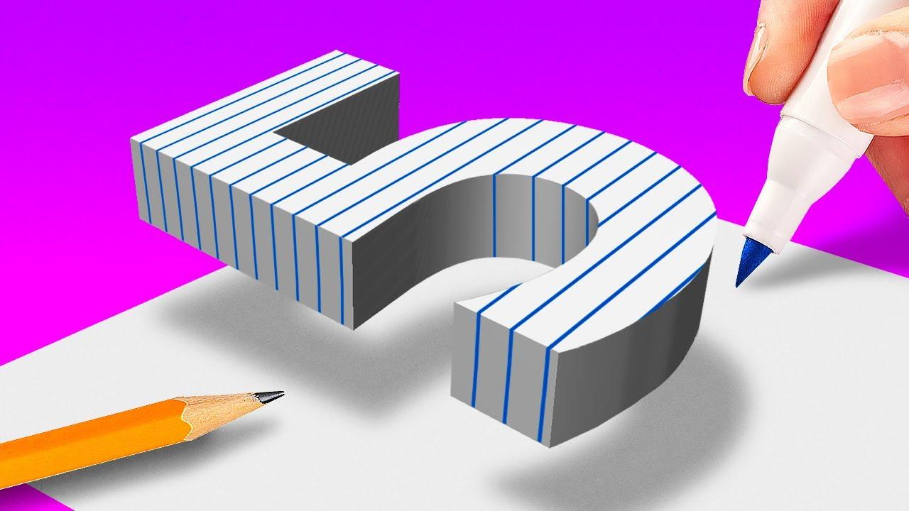 КРЫШЕСНОСНЫЕ СЕКРЕТЫ 3D-РИСОВАНИЯ