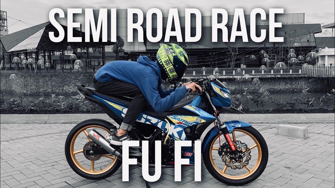 Satria FU FI Injeksi Modif Semi Road Race 78 GILAK Modification Parts and Test Ride Review