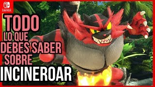 COMO JUGAR CON Y EN CONTRA DE INCINEROAR - Smash Bros Ultimate