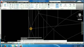 3d Autocad Modeling-home Plan Design-spiral Stairs Creation Part#6