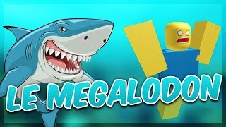 THE MEGALODON TO MANGÉ ALL the WORLD! Roblox Sharkbite