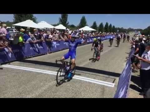Travis McCabe wins stage 3 of Herald Sun Tour