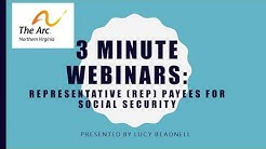 Social Security Rep Payees in 3 Minutes