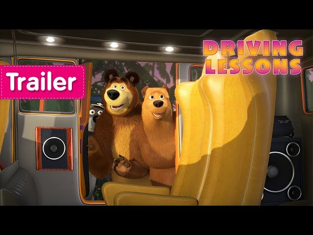 Masha and The Bear -  Driving Lessons