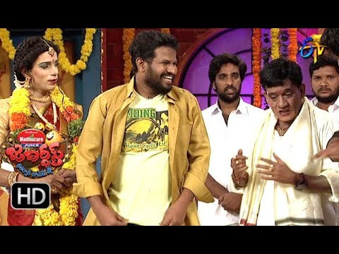 Hyper Aadi, Raising Raju Performance | Jabardasth | 13th September 2018 | ETV  Telugu