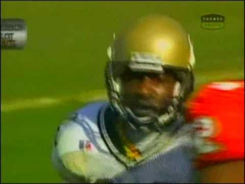 1999 Georgia Tech-Clemson Joe Hamilton to Kerry Watkins