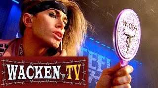 Steel Panther - 3 Songs - Live at Wacken Open Air 2014
