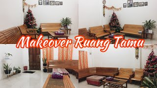 Download MAKEOVER RUANG TAMU 4x5 | BOHEMIAN STYLE| LOW BUDGET