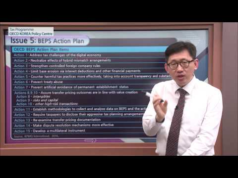 [OECD Tax] Introduction to International Taxation Lecture 2 Joon Seok Oh