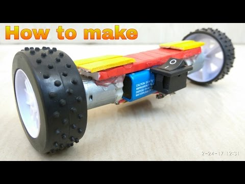How To Make HOVERBOARD  - [ DIY Scalemodel ]