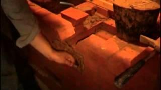 видео Кирпичные печи для бани
