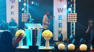 Nathaniel Bassey at Praise Week 2016 RCCG Coventry