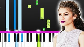 Labrinth & Zendaya – All For Us (Euphoria) (Piano Tutorial) By MUSICHELP