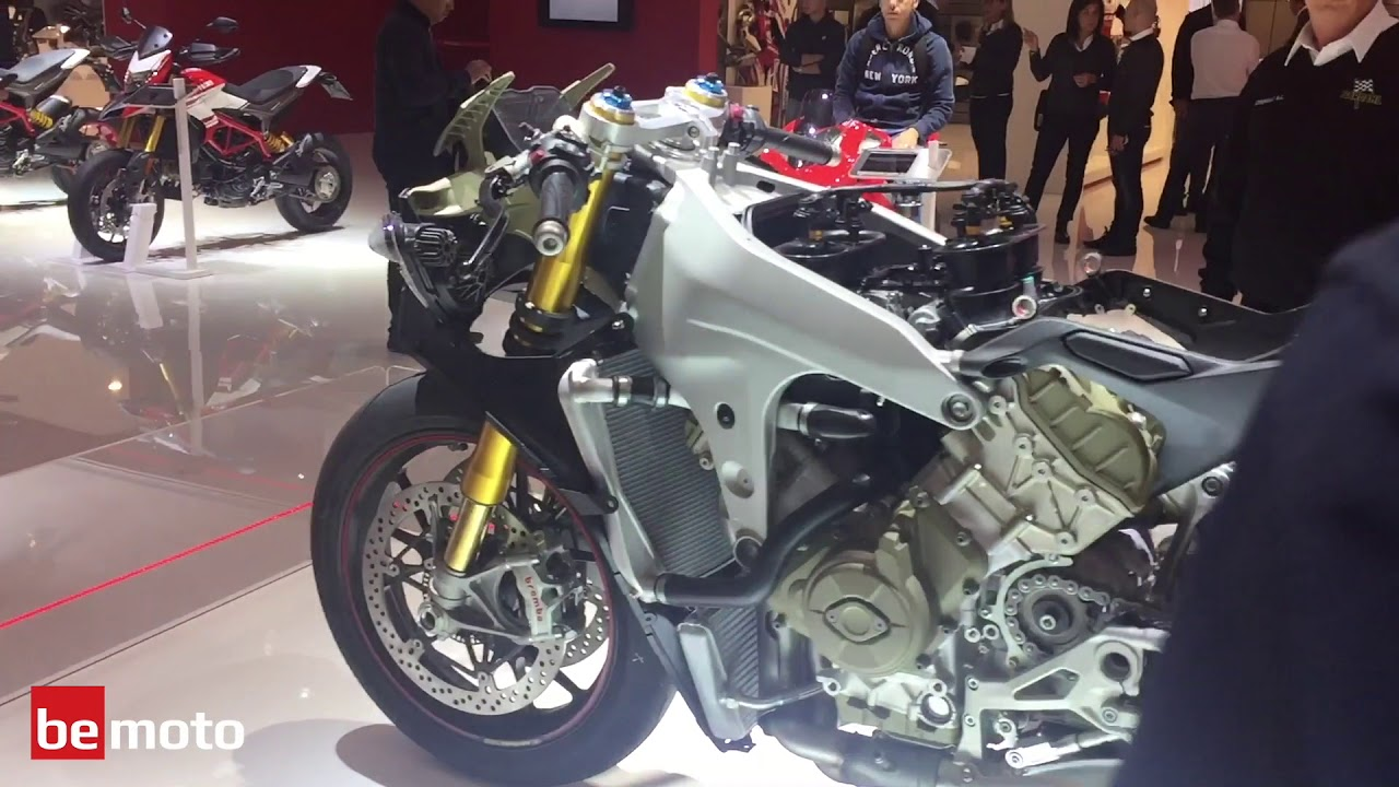 Exclusive from EICMA - All new 2018 Ducati Panigale V4