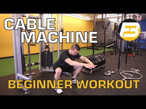 Fitness and Exercise Tips For Men And Women Over 50 - Cable Machine Workout Routine for Beginners
