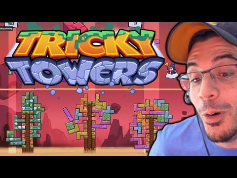 TETRIS WITH A TWIST! (Tricky Towers W/ Friends)