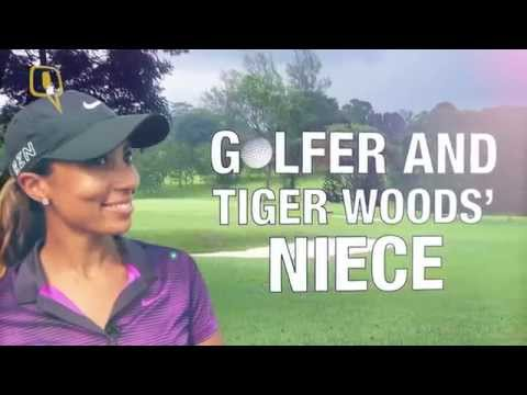 Tiger Woods' Niece Cheyenne Woods Greets India With a Namaste!