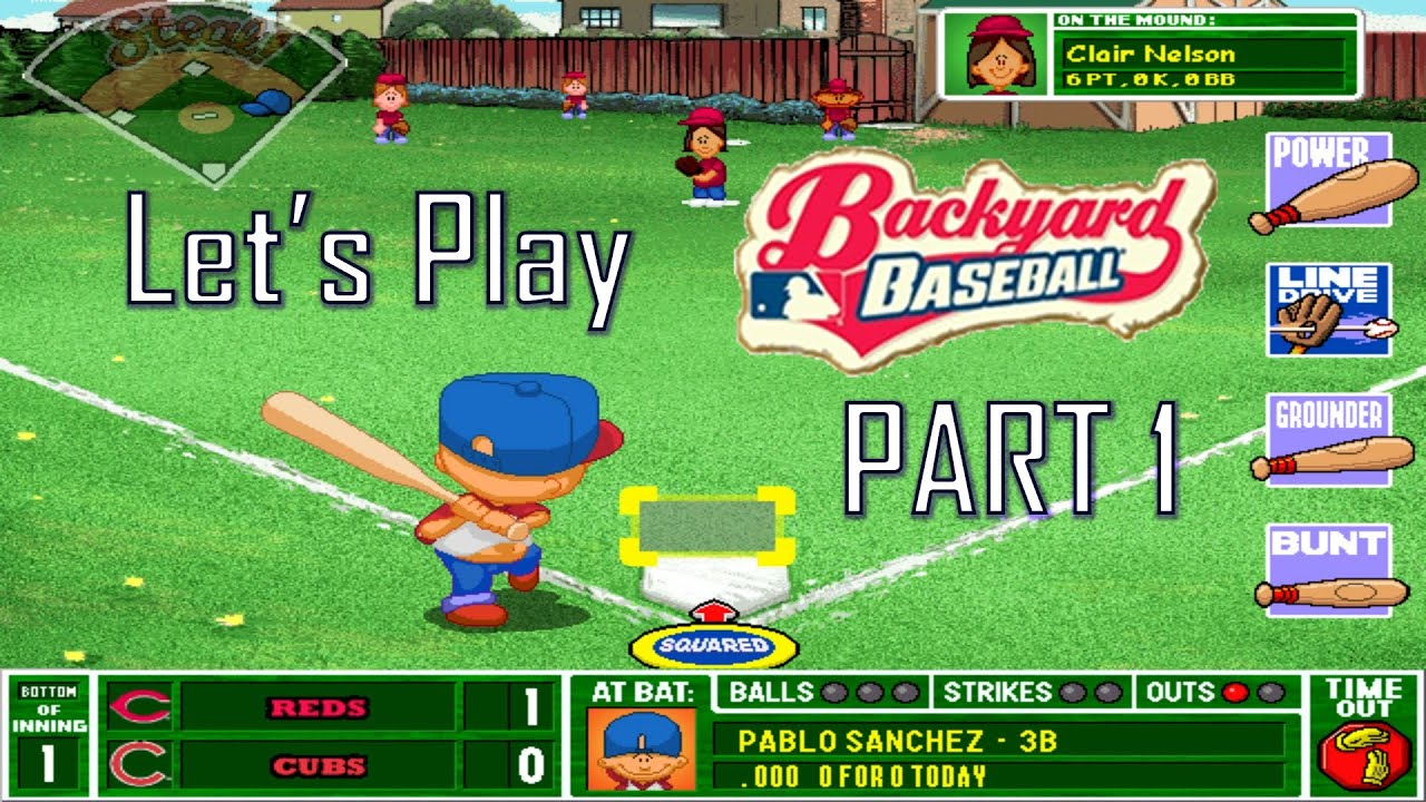 Let S Play Backyard Baseball Part 1 Youtube