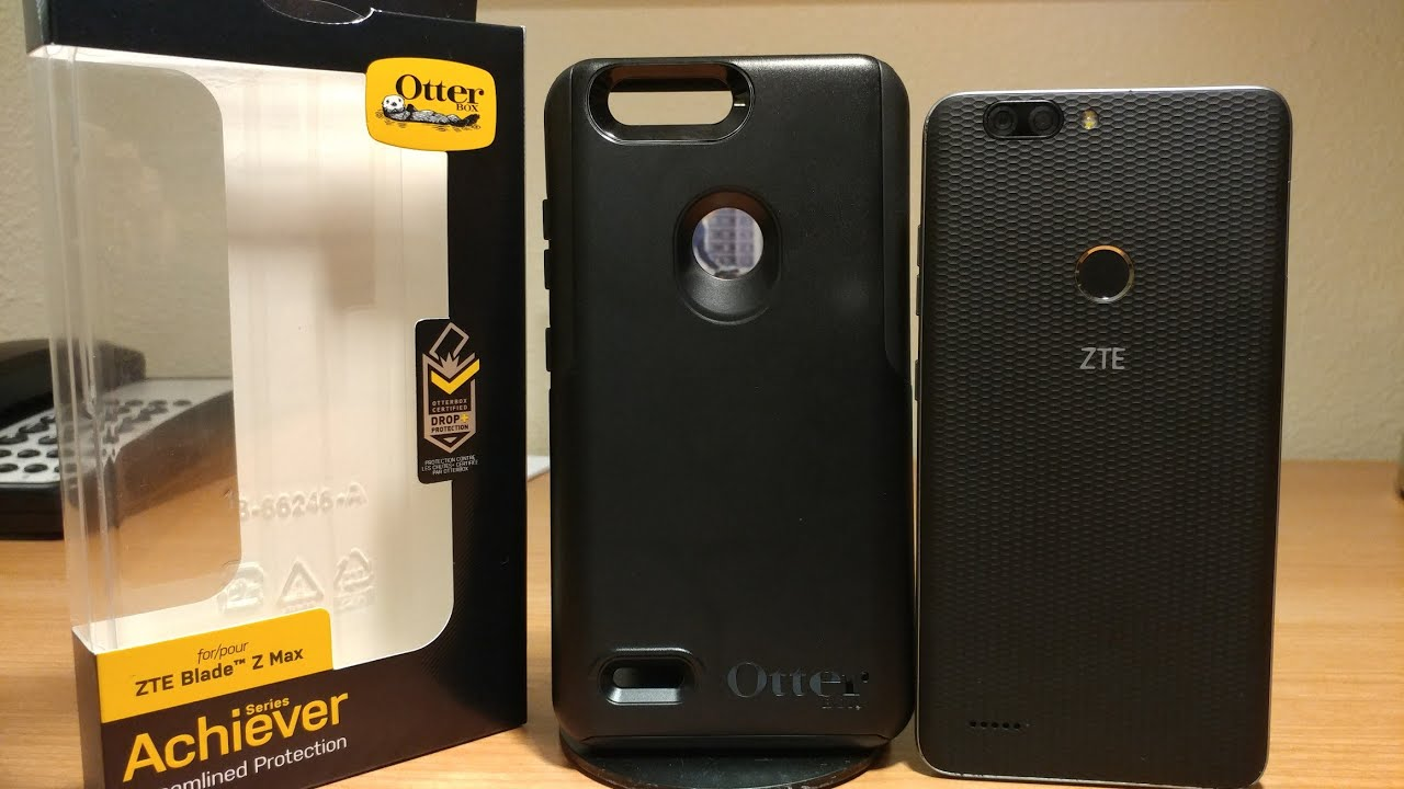 hot sale online 74465 58334 ZTE Blade Zmax Otter Box Case - YouTube