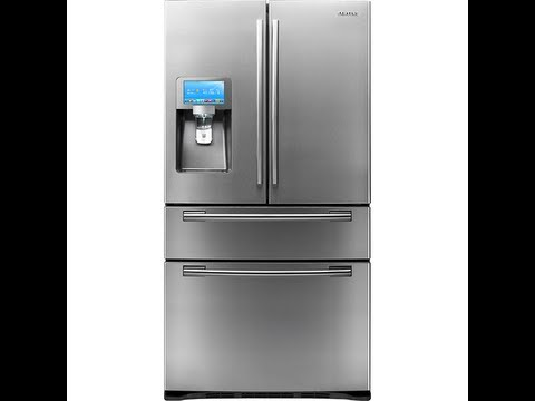 Samsung Smart Fridge Youtube