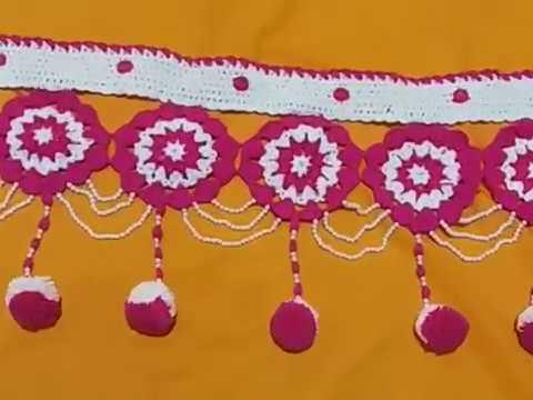 Woolen with Moti Toran Design