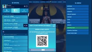 Fortnite Party Hub Qr Scan, How It Works, What Is It Used For?