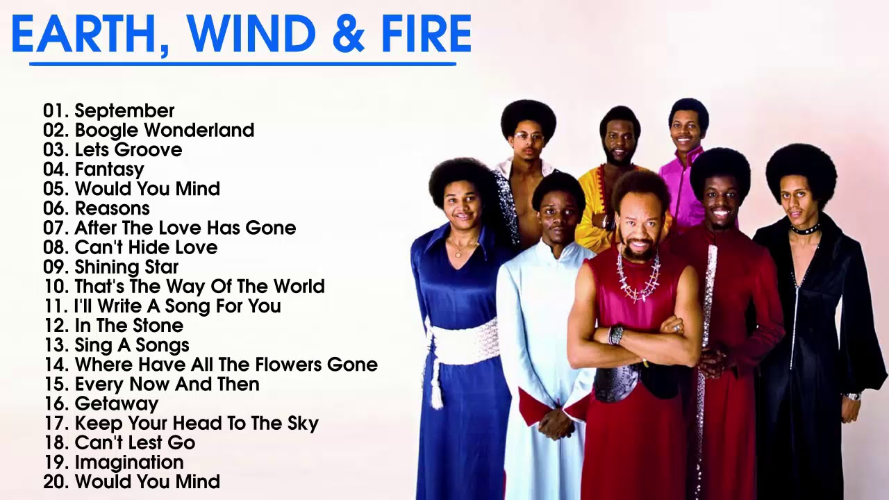 Image result for earth wind and fire songs
