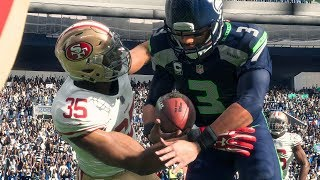 Madden 18 Seahawks vs 49ers A Murder!!! Blowout!!! Rival Team Full Game Play Xbox One