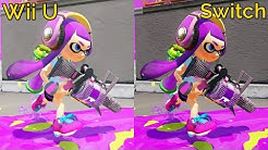 Splatoon vs Splatoon 2 Graphics Comparison (Wii U vs Nintendo Switch)