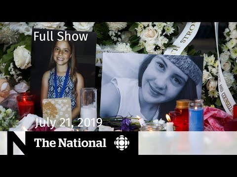 The National for July 21, 2019 — Danforth Shooting, Marvel's First Chinese Superhero, Hong Kong