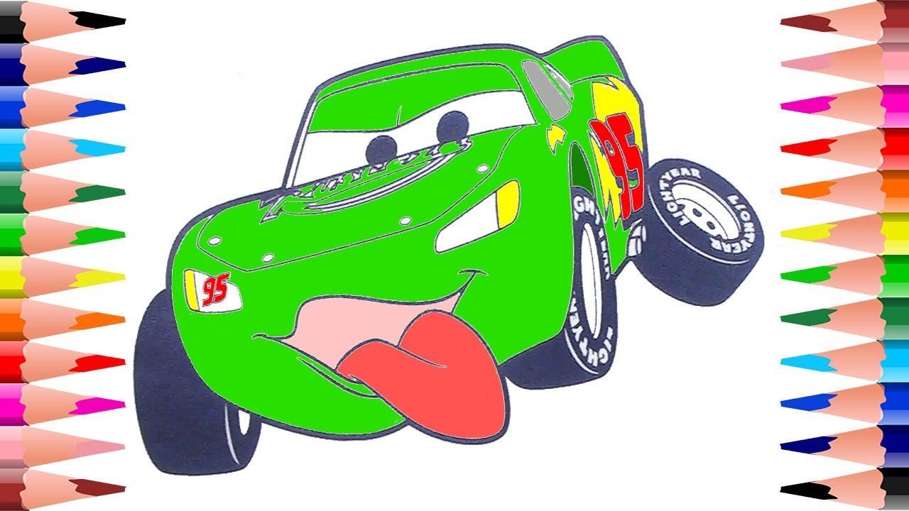 Paint Disney Pixar Cars Coloring Pages
