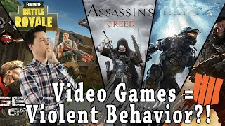 Video Games Cause Violence?!
