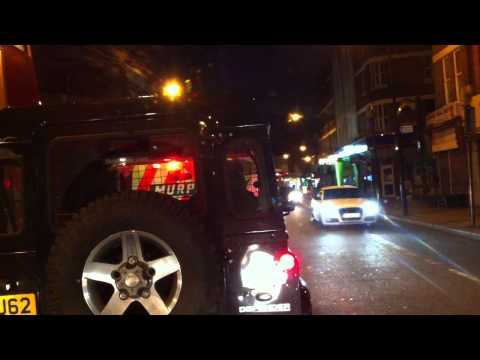 London streets (338.) - Mitcham - Tooting - Balham - Clapham - Oval - Lambeth Rd
