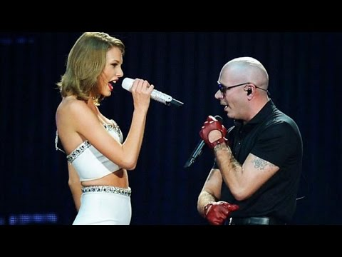 Taylor Swift Heats Up Miami With Pitbull and Ricky Martin as Calvin Harris Looks On!