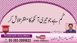 Gum hy jo teri ankh ka manzar urdu poetry