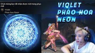 Bé Chanh Đốt Tiền Vẽ Bùa Violet Pháo Hoa Neon Thừa Hẳn 3 Viên Đá Quý 😂