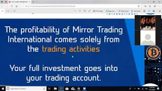 B.Y.OB. BECOME YOUR OWN BANK  GROW YOUR BITCOIN PASSIVE INCOME WITH  MIRROR TRADING INTERNATIONAL