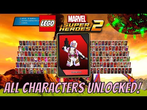LEGO Marvel Super Heroes 2 All Characters Unlocked (With Commentary)