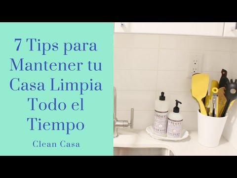 Como Mantener tu Casa Limpia Todo el Tiempo! | Clean Casa
