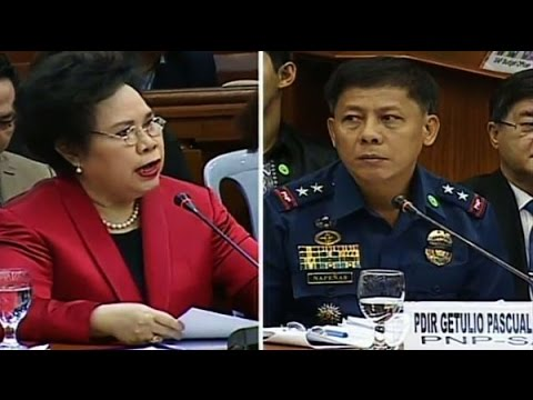 Miriam  Defensor Santiago SAF 44, Mamasapano, Senate Investigation February 12,2015 2/7