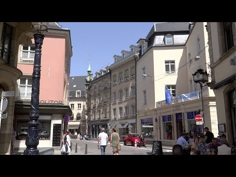 Luxembourg City, Luxembourg - Streets of Luxembourg (2018)