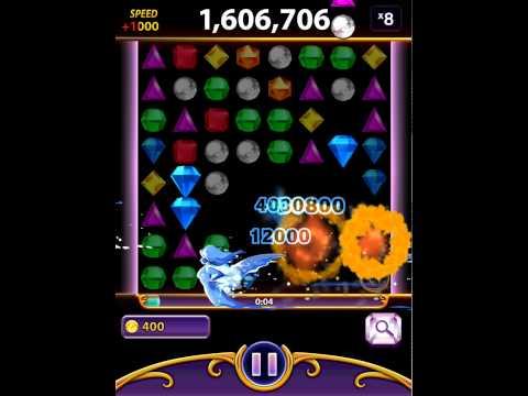 Bejeweled Blitz: Aquamarine (3,030,800)
