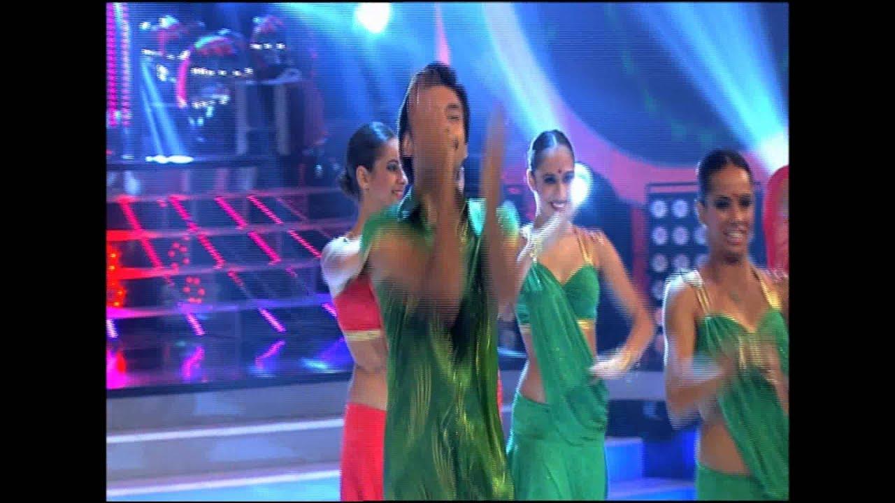AYTUNC BENTURK&ABDA DANCERS BOLLYWOOD SALSA SHOW 2012 STAR TV