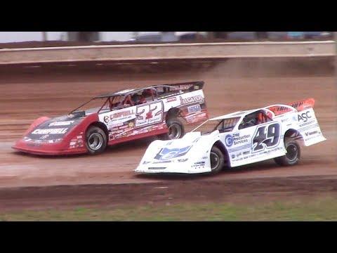 Lucas Oil Late Model Dirt Series Heat One | Sharon Speedway | 7-2-18