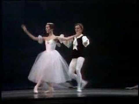 Mikhail Baryshnikov Marianna Tcherkassky Les Sylphides Waltz