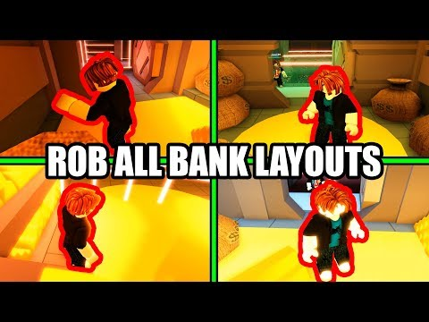 HOW to ROB ALL BANK and JEWELRY STORE LAYOUTS | Roblox Jailbreak New Update