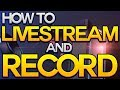 Download Lagu How to Livestream and Record on the Playstation 4 PS4 Upload Share  Built In Capture Card.mp3