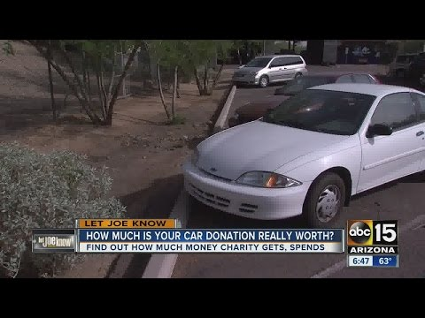 How much is your car donation really worth...